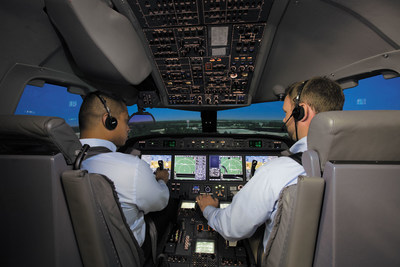 Porter Airlines extends pilot simulator training agreement with FlightSafety International, including new E2 aircraft (CNW Group/Porter Airlines)