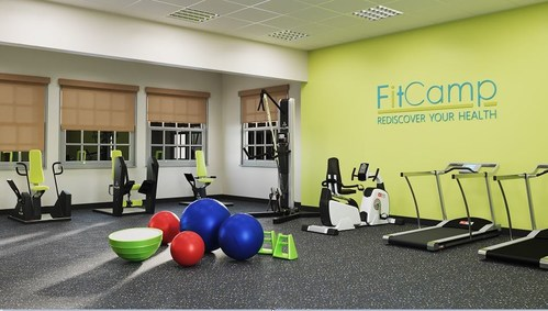 Pictured: New FitCamp Health & Fitness Center