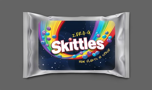 Mars Wrigley Launches Limited Edition Zero-G SKITTLES® to Commemorate the Brand's First Trip To Space, Creating Better Moments and More Smiles For Extraterrestrial Travels.  - Skittles Zero G - Mars Wrigley Launches Limited Edition Zero-G SKITTLES® to Commemorate the Brand's First Trip To Space, Creating Better Moments and More Smiles For Extraterrestrial Travels