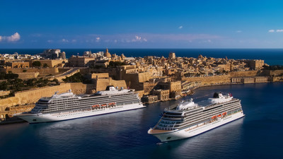 The 930-guest sister ships, Viking Sea and Viking Venus, are homeporting this summer in the Maltese capital city of Valletta—a cultural UNESCO World Heritage Site. Offered as part of Viking's Welcome Back collection, exclusively available for vaccinated guests, both ships are sailing three new itineraries sailing roundtrip from Valletta. For more information, visit www.viking.com.