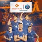 Geekvape e Paris Saint-Germain anunciam parceria oficial