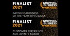 Tutors International Announced as Finalists in the Growing...