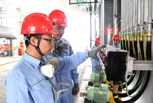 Sinopec Builds World's Largest Disinfectant Production Base in Qianjiang, China.