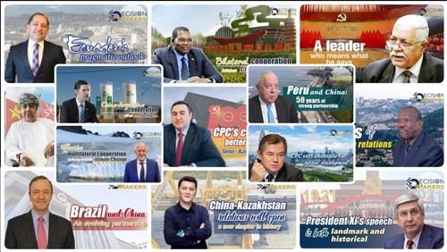 PCC dá o exemplo para o desenvolvimento global (PRNewsfoto/CGTN)