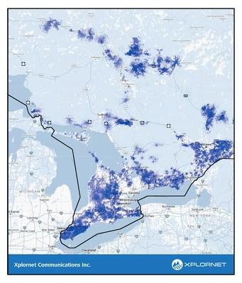Les forfaits Xplore 50X10 ILLIMITÉ de Xplornet sont maintenant disponibles à plus de 200 000 foyers en zones rurales en Ontario (Groupe CNW/Xplornet Communications inc.)