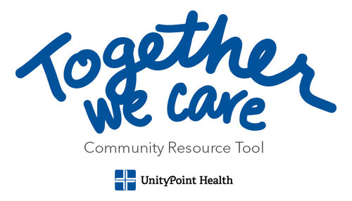 """UnityPoint Health is launching a new social services resource called """"Together We Care"""" to help individuals find assistance with food, housing, transportation, employment and more."""