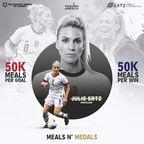 The Ertz Family Foundation and The Athletes' Corner launch 'Meals n' Medals'