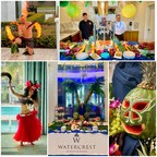 The Aloha Spirit Enlivens Residents at Watercrest Winter Park...