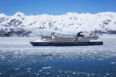 Celebrity Millennium sailing in Alaska