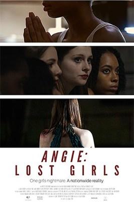 Angie: Lost Girls, deuxième affiche du film. (PRNewsfoto/Artists For Change, Inc.)
