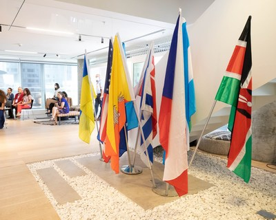 Diplomatic Delegation at Start-Up Nation Central. Credit - Liron Cohen Aviv