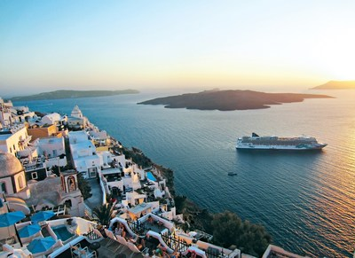 Norwegian Jade's immersive Greek Isles itinerary, available through November 2021, will offer guests eight-to-nine hours of port time in a new destination each day, including Crete, Mykonos, Rhodes and Santorini.