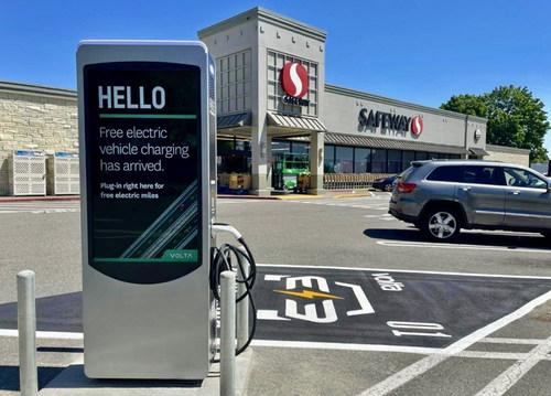 Volta Charging Announces New Station Installation In Renton, Washington