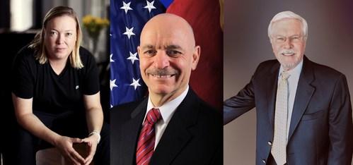 (L-R) Shawn Dougherty; Sal Cassano; Dr. Dave Long