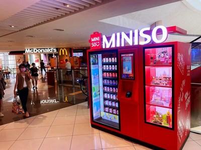 MINISO's Blind Box Vending Machine in Singapore