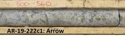 Figure 3: Dravitic Breccias present at Camp East exhibit similar characteristics to mineralized dravitic breccias intersected at Arrow. (CNW Group/NexGen Energy Ltd.)