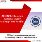 AskSid's Virtual Advisor successfully launches multi-country 'Dulux Promise' campaign for AkzoNobel