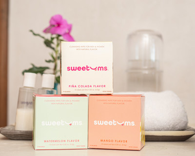 Sweetums Wipes launches all-natural flavored intimate wipe. First wipe designed that was created to help you freshen up, and taste good.