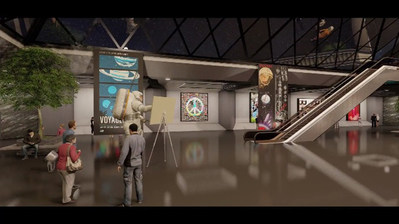 """NFT Gallery drop """"The Museum of Earthly Delights"""" by Pimptronot"""