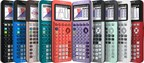 Texas Instruments new TI-84 Plus CE Python graphing calculator...