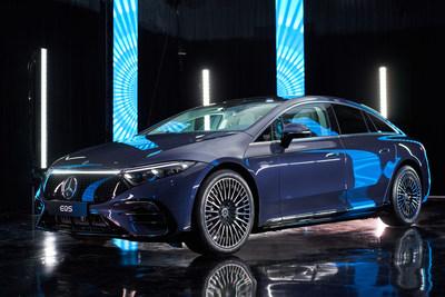 EQS 580 4MATIC 2022 (Groupe CNW/Mercedes-Benz Canada Inc.)