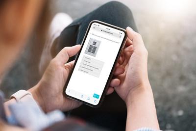 Processus de demande de devis de Qmerit pour la recharge à domicile, à partir d'un appareil mobile (Groupe CNW/Mercedes-Benz Canada Inc.)