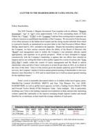 YTRA Letter to Shareholders