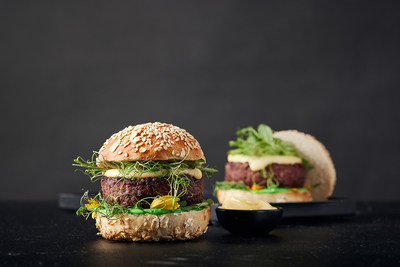Redefine Burger - the world's first premium restaurant-style burger, packing 170 grams of New-Meat