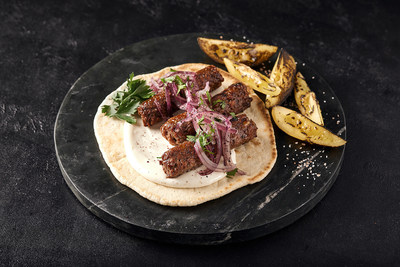 Redefine Lamb Kebab - an extremely juicy, minced meat product designed to address the most common meat street food dish in cuisines from the middle east through to India