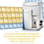Covalent Metrology Expands Analytical Chemistry Capabilities with Triple-Quadrupole Inductively Coupled Plasma Mass Spectrometry (ICP-MS)