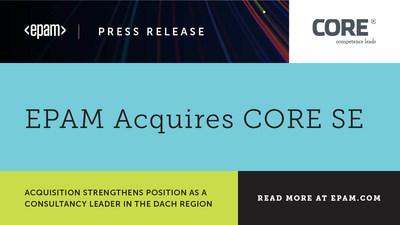 EPAM Acquires CORE SE