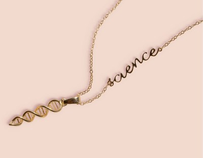Tech-enabled, try-before-you-buy fine jewelry retailer Access79 celebrates Science, unveils limited-edition S-C-I-E-N-C-E necklace designed in collaboration with a leading team of female physicians