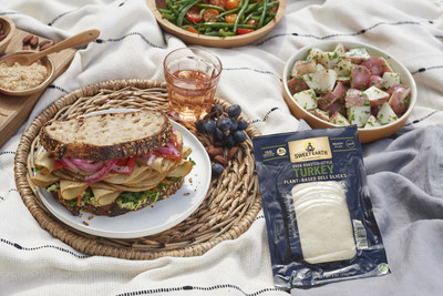 Sweet Earth® Plant-Based Deli Slices contain 15 grams of plant protein and deliver an authentic deli experience that makes for a perfectly satisfying sandwich swap.