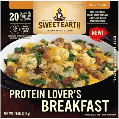 The three new Sweet Earth® Breakfast Bowls are inspired by classic savory regional scrambles. All three flavors offer between 17 - 20 grams of plant protein and three to five grams of fiber.