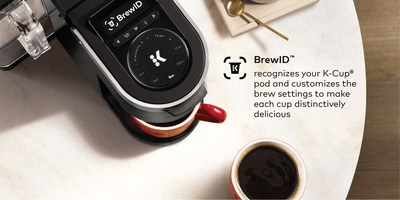 Introducing BrewID™, a technology platform that unlocks customized settings for 900+ K-Cup® pod varieties. The first brewer to feature this technology is the K-Supreme Plus® Smart Brewer with BrewID.