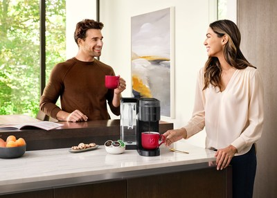Use BrewID's pod recognition technology to automatically get the coffee roasting expert's recommendations, or customize the settings yourself to create their perfect cup with every brew.