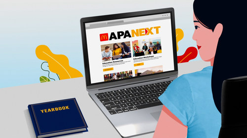 Visit APAnext.com to explore McDonald's educational resources.