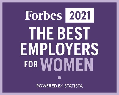 Forbes 2021 The Best Employers For Women