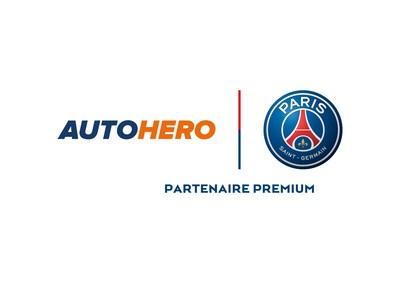 Autohero & Paris Saint-Germain/Partenaire Premium