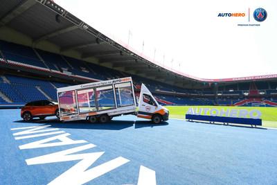 Autohero & Paris Saint-Germain : Partenaire Premium/ Autohero fait son entrée au Parc des Princes