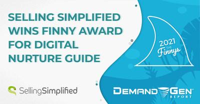 Le guide de soutien numérique de Selling Simplified « COVID Killed the Cold Call » remporte le Finny Award au Killer Content Awards 2021.