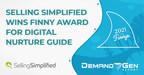 Le Finny Award 2021 valide l'approche numérique de SSG en matière de demande axée sur le contenu