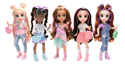 Made with eco-friendly recycled materials, the new B-Kind doll line from Jada Toys celebrates acts of kindness to the environment, animals, and each other!