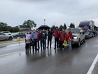 Unifor members at Bombardier Aviation and De Havilland Aircraft on strike
