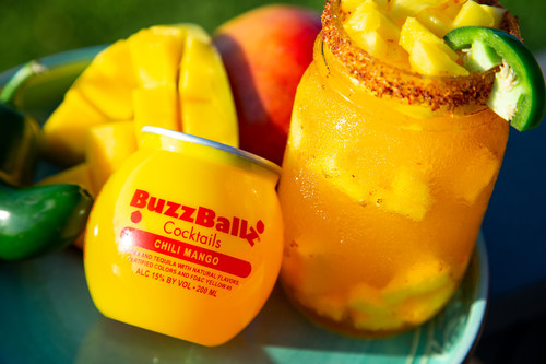 BuzzBallz Cocktails Chili Mango