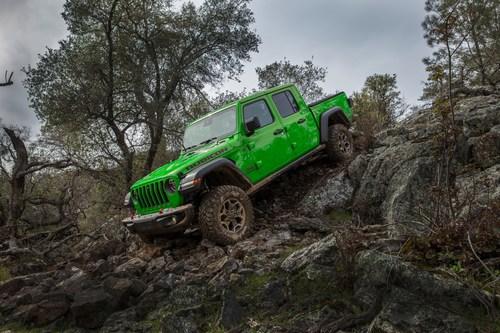 2021 Jeep® Gladiator Rubicon in Gecko Green