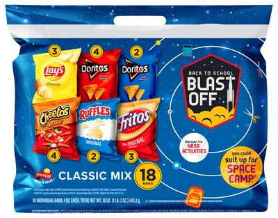 FRITO-LAY VARIETY PACKS BLASTS OFF WITH ASPIRING ASTRONAUT ALYSSA CARSON FOR BACK-TO-SCHOOL PROGRAM SENDING GIRLS TO SPACE CAMP