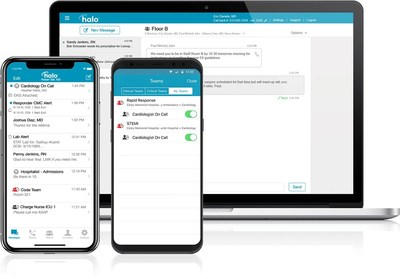 Halo Health is available on desktop, iOS and Android operating systems