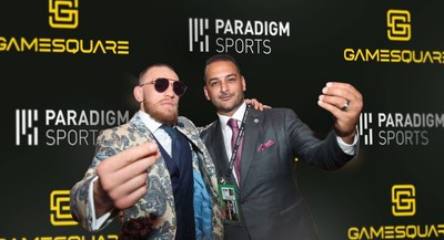 Paradigm Sports, led by its Founder and CEO Audie Attar (right) along with its notable client Conor McGregor (left), has joined the GameSquare advisory board. The convergence of esports and traditional sports is the key driver for the latest additions to the GameSquare advisory board which includes Tony Hawk and Jordan Belfort.