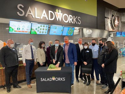 Saladworks Store-Within-A-Store Kroger Grocery Store Opening